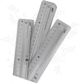 Règle aluminium 30 cm