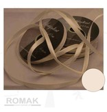 Central Craft Collection 6mm satinbånd Ivory