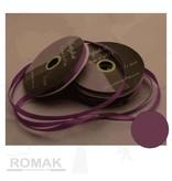 Central Craft Collection 6mm satinbånd Mørk lilla