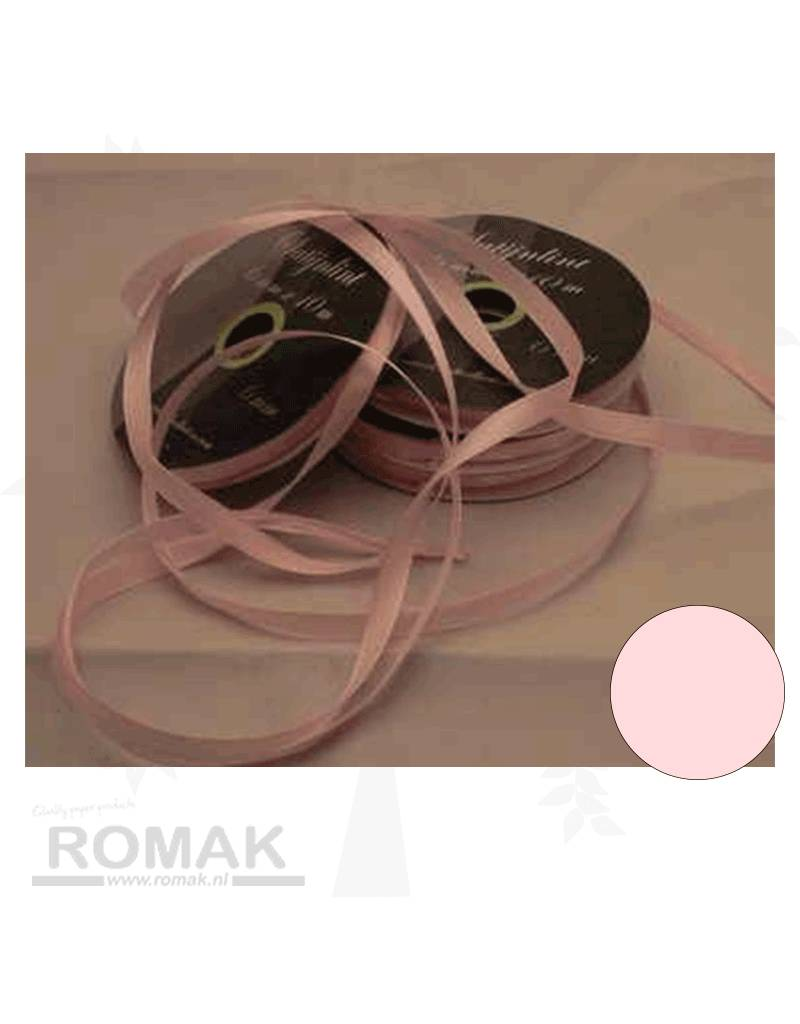 Central Craft Collection 6mm Satijnlint Baby Roze