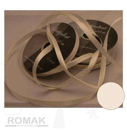 Central Craft Collection 3mm Satin-Band-Elfenbein