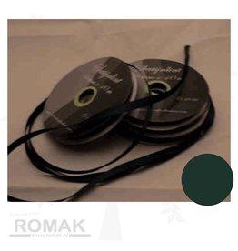 Central Craft Collection 3mm Satin Ruban Vert foncé