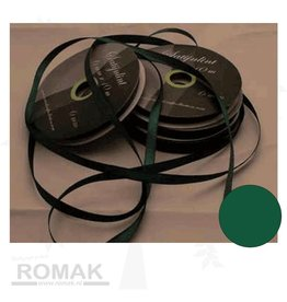 Central Craft Collection 3mm Satin Ribbon Noël vert