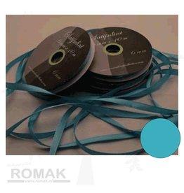 Central Craft Collection 3mm Satijnlint Blauw