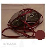 Central Craft Collection 3mm satinbånd Mørkerød
