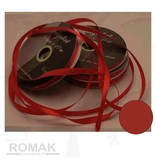 Central Craft Collection 3mm Satin-Band-Rot