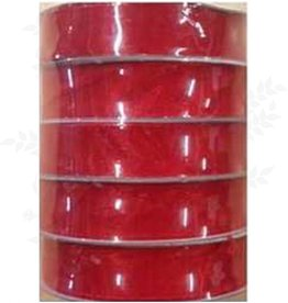 Romak Ruban organza 15 mm Rouge