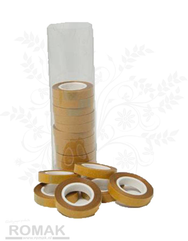 Hobbycentraal 16 rollen tape in koker 6mm breed