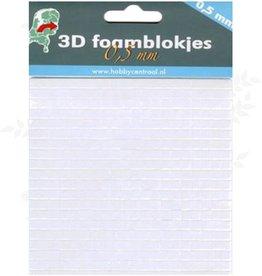 Hobbycentraal Schaumstoff-Pads 0.5mm