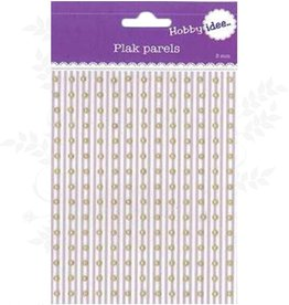 Hobby Idee Paste Pearls Yellow Gold 3mm