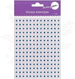 Hobby Idee Strass Bleu clair 3mm