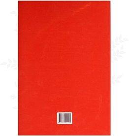 Piercing pad rød A4