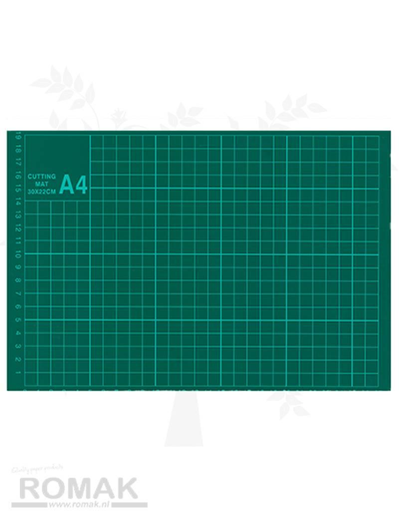 A4 skære mat Grid