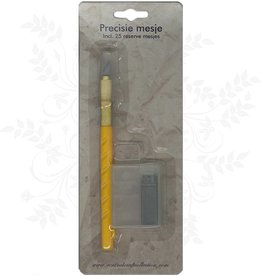 Central Craft Collection couteau Pricisie avec 25 lames de rechange