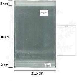 Hobbycentraal sacs A4 avec bande adhésive et en-tête