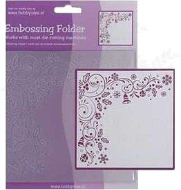 Central Craft Collection Embossing Folder 14x14cm Weihnachten