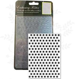 Central Craft Collection Embossing Folder Blume 10,5x15cm