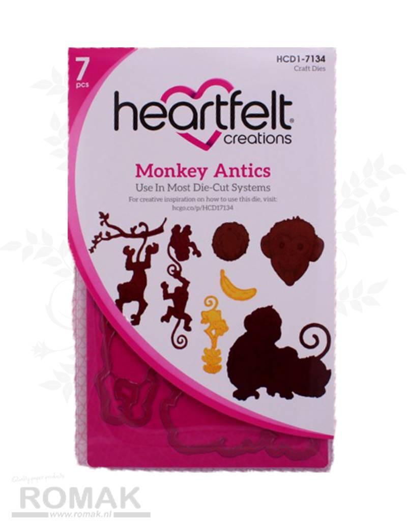 Heartfelt Monkey Antics Die