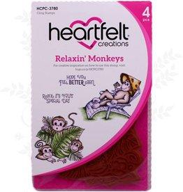 Heartfelt Ensemble de timbres Relaxin 'Monkeys Cling
