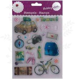 Hobby Idee Reise Stempel 14 x 18 cm