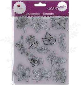 Hobby Idee Stamp Leaves 14 x 18 cm