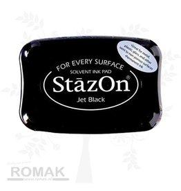 Tsukineko Stazon Ink pad jet black