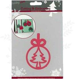 Hobby Idee Schneiden Mal Label-Weihnachtsbaum