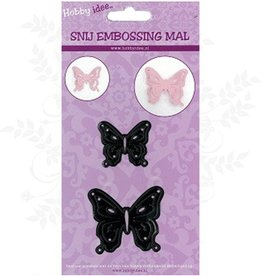 Hobby Idee Couper Mal Papillons 2 pcs