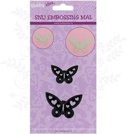 Hobby Idee Klip Mal Butterflies 2 stk