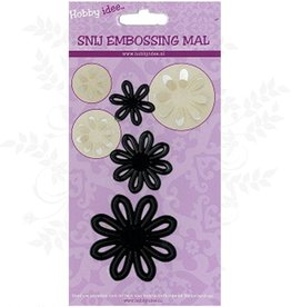 Hobby Idee Schnittblumen Mal 3 Stiche bleiben in Papier