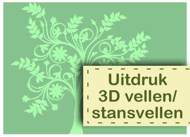 Uitdruk 3D vellen / stansvellen