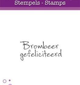 Hobby Idee Stempel Brombeer gefeliciteerd