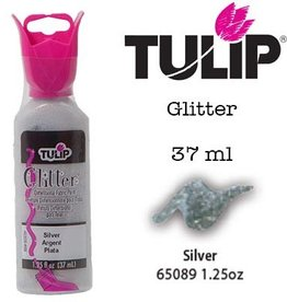 Tulip Tulip verf Glitter Silver (37 ml)