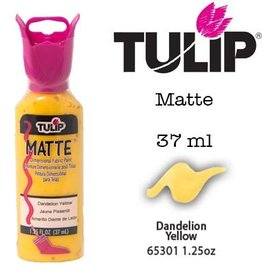 Tulip Tulip verf Matte Dandelion Yellow (37 ml)