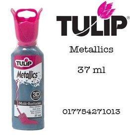 Tulip Tulip verf Metallics 3D Ash Blue (37 ml)