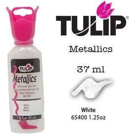 Tulip Tulip verf Metallics White (37 ml)