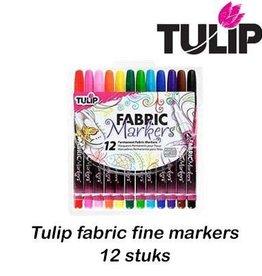 Tulip Tulip fabric markers fine 12 st.