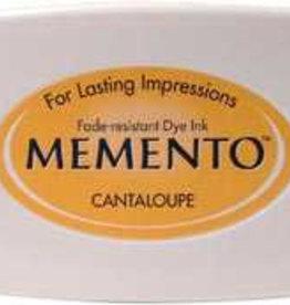 Tsukineko Inkpad Large Memento Cantaloupe