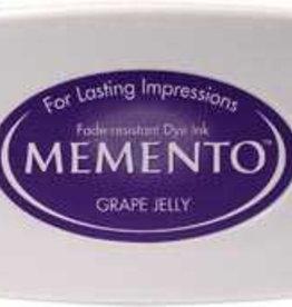 Tsukineko Inkpad Large Memento Grape jelly