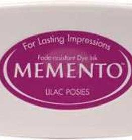 Tsukineko Inkpad Large Memento Lilac posies
