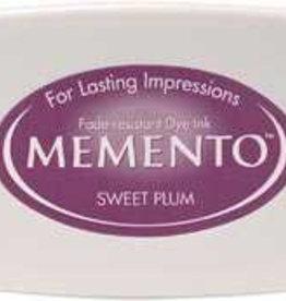 Tsukineko Inkpad Large Memento Sweet plum