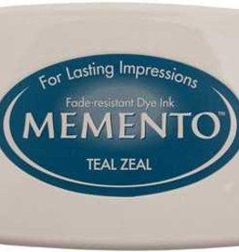 Tsukineko Inkpad Large Memento Teal zeal