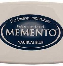 Tsukineko Inkpad Large Memento Nautical blue