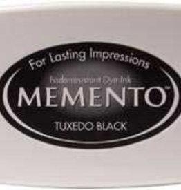Tsukineko Inkpad Large Memento Tuxedo black