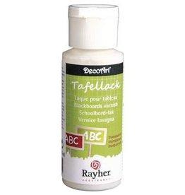 Rayher Schoolbordvernis transparant, zijdenmat, flacon 59 ml.