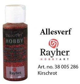 Rayher Glimmer Allesverf Kersenrood
