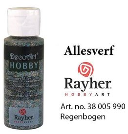 Rayher Glimmer Allesverf Regenboog