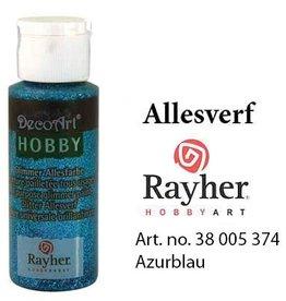 Rayher Glimmer Allesverf Azurblauw