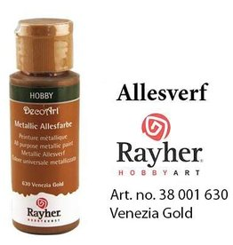 Rayher Metallic Allesverf Venezie goud