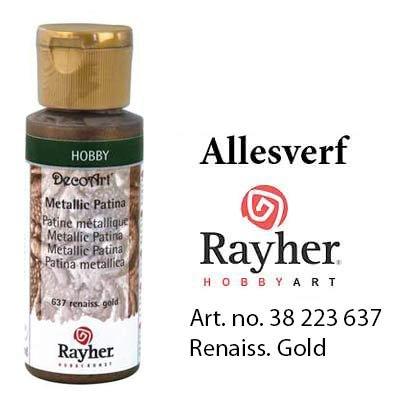 Rayher Metallic Patina renaissance goud